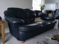 2 leather Sofas NEED GONE!