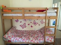 Joshua shorty bunk bed with 1 mattress
