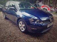 Volkswagen Golf 1.6TDI BlueMotion Tech Match Hatchback 5dr (start/stop) FREE 1 YEAR WARRANTY, £0 TAX
