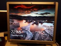 "Quality 19"" flat screen monitor"
