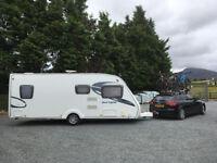 Sterling Europa 545 Touring Caravan 2011