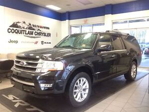 2015 Ford Expedition Max Limited Power Sunroof Leather Navigatio