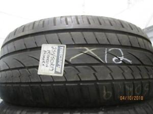 255/50R19 SINGLE ONLY USED MICHELIN A/S TIRE