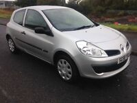 RENAULT CLIO EXTREME DCI 08/58-1 OWNER CAR WITH FSH AND A YEARS MOT-EXCELLENT CONDITION