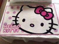 Hello Kitty bedroom/bedside mat