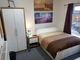 "SPACIOUS FURNISHED ROOM W. 40"" LCD TV IN QUIET FRIENDLY REFURBED HOUSE. LOW DEPOSIT. INCL ALL BILLS"