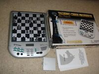 Talking Chess Professor Game - Chess computer - as new