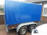 Twin axle 8x4 curtain sided trailer