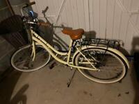 "[SOLD] Baracuda Tucana Womens SS 19"" Cream Vintage Bike"