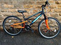 "Falcon Neutron Boys Mountain Bike 24"" Wheels. Nearly new condition"