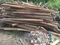 Huge pile of wood almost new 4x2