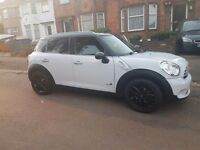 MINI COUNTRYMAN COOPER MILEAGE 61000 Mini countryman 57000 On clock Diesel 1.6litre