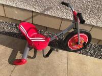 Red kids slider