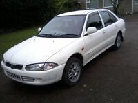 PROTON PERSONA 1-3 MERIDIAN 5-DOOR 1999 T REG 132k MILES WITH 19 SERVICE STAMPS!LAST SERVICE AT 125k