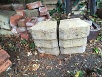 Ornamental garden bricks