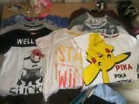 Big bundle of 6-7 boys clothes