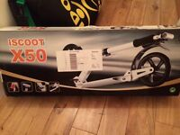 X50 ISCOOT SCOOTER BNIB £55 ono