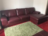 Corner sofa with foot stool, Great condition £400 ONO pick up only, Pencader