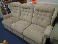 3-SEAT SOFA at Haven Trust's charity shop at 247 Radford Road, NG7 5GU