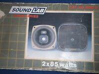 Soundlab Gold Series, 85W speakers