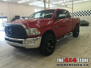 2012 Ram 3500 LARAMIE LEATHER LOADED 4X4 CUMMINS DIESEL ROOF NAV