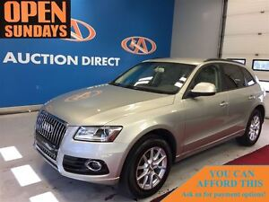 2013 Audi Q5 2.0T LEATHER! AWD! FINANCE NOW!