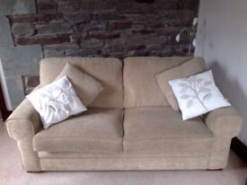 ALSTONS 'Shetland' SOFA BED Double Sprung Matress 3 Seater, Collect GRASMERE (Lake District)