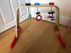 Baby Toddler Active Gym Wooden Toy - Used Clean Condition
