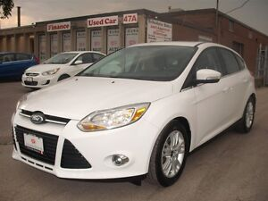 2012 Ford Focus SEL,LEAT,ROOF,NAVY