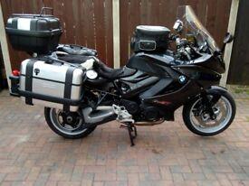 BMW F800GT Full Luggage
