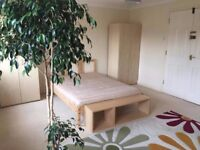One large double and a small single room available