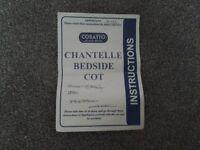 Chantelle Bedside Cot Cosatto
