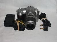 Nikon D50 SLR camera with 18-55mm lens