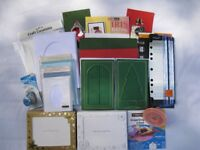 NEW BLANK CARDS & EQUIPMENT for CARD MAKING