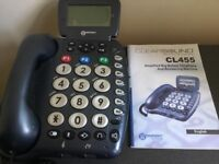 Geemarc Clearsound Phone for hearing/sight difficulties