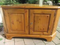 Ducal TV Cupboard with DVD storage & lock