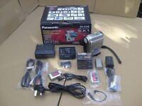 Panasonic NV-EX1B Digital camcorder boxed kit.