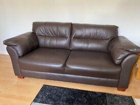 Leather sofa - perfect