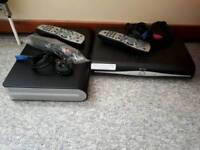 Sky+HD boxes plus controllers