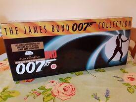 James Bond VHS collection