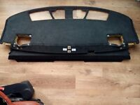 BMW Individual e65 e66 rear Alcantara parcel shelf