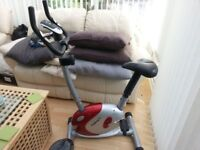 EXERCISE BIKE WITH DIGITAL DISPLAY GREAT CONDITION