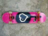 Blueprint skateboard full setup including fracture trucks