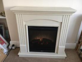 Dimplex Chadwick Optiflame electric log/flame effect fire