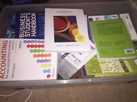 Range of Event Management / Business books - University student study books (over 15!)