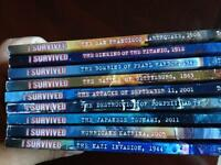 """I Survived"" series of books"