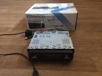 Kenwood Car Stereo System CD-Receiver With USB Interface KDC-W6541U