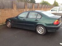 BMW 318i £500 ONO - 6 months MOT - still a good wee runner or spares/repairs