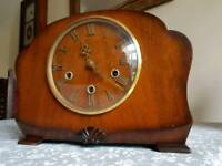 Antique Smiths Westminster Chime Clock