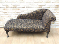 Black chaise lounge (Delivery)